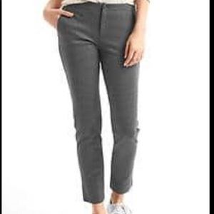 GAP double knit girlfriend chinos